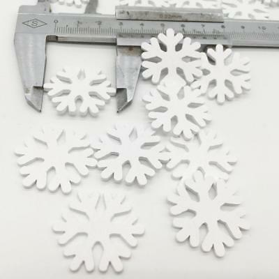 Wooden MDF Snowflake Shapes Embellishment for Christmas Party Home Decor 100