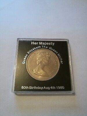 QUEEN MOTHER 80th Birthday coin 1980