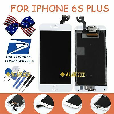 LCD Display For iPhone 6S Plus Touch Screen White Full Parts Replacement