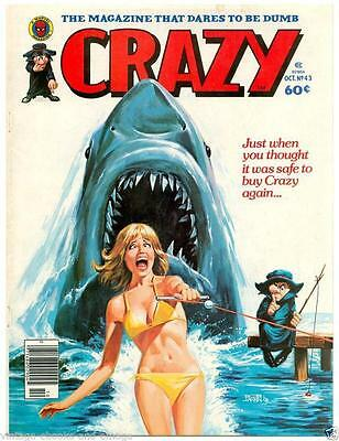Crazy Magazines 90 Vintage retro comedy on a disc in pdf comics to read on PC