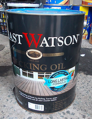 "Feast Watson ""Decking Oil "" in NATURAL  10 Litre can  - PICK UP ONLY Rooty Hill"