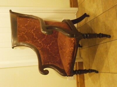 Antique chair, bath chair , Lovely old and comfortable .