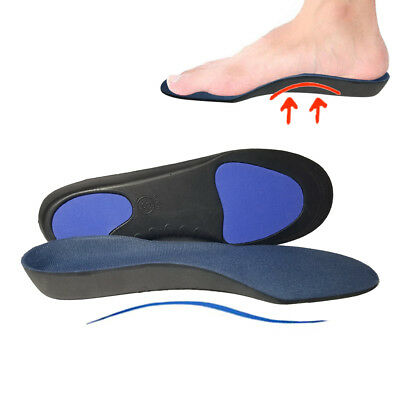 Support Orthotic Arch Insole Pad Foot Care Shoes Pain Relief Comfort Cushion