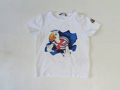 Moncler Boys Age 12-18 Months Graphic T-Shirt