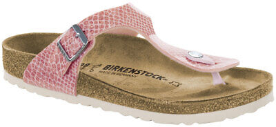 BIRKENSTOCK GIZEH MAGIC Snake Rosa Birko Flor, Weite: normal