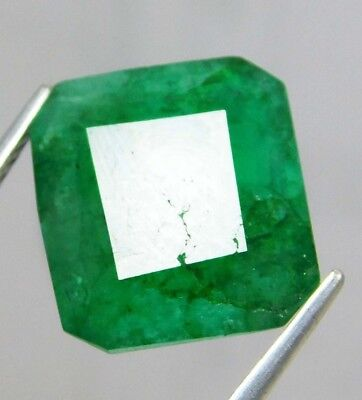 Natural 5.75 Ct Certified Emerald Cut Colombian Loose Emerald Gemstone. GS11078