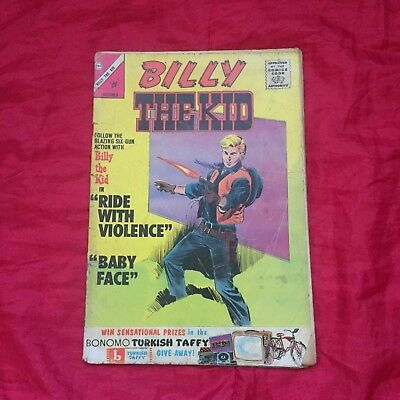* Billy the Kid #42 October 1963 Bagged Charlton Comic