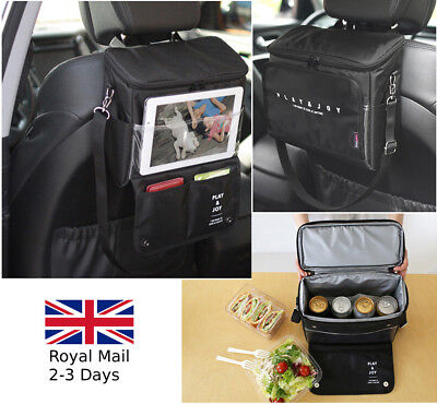 TRAVEL CAR BACK SEAT STORAGE CARRY PICNIC INSULATED BAG Hanging Caravan