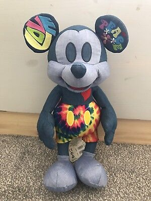 New Disney Mickey Mouse memories June Plush Teddy 06/12 limited edition Uk