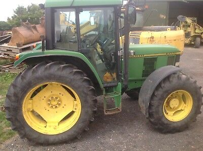 John Deere 6400 Power Quad Tractor Yr1993 Hours9500 Jd