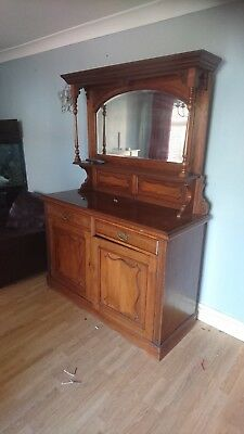Dresser With Top And Mirror