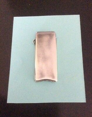 """Tiffany Sterling Elsa Peretti Lighter """"thinest Lighter In The World"""" 5Mm *rare*"""