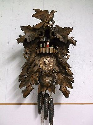 Cuckoo Clock,animated,musical.just Serviced,watch Video !!!!!!