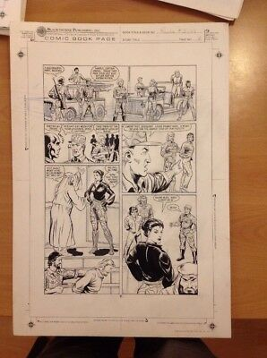 Rambo Original Art Page Issue 3 Page 7