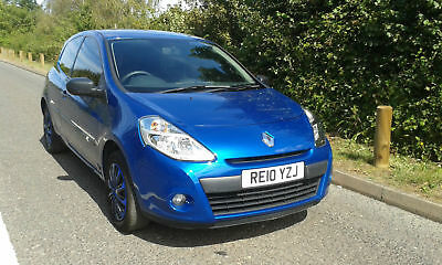 2010 Renault Clio 1.2 16v 75bhp  a/c Extreme, ONLY 44655 MILES, BRAND NEW MOT