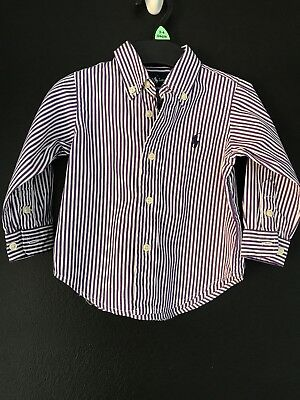 Baby Boys Genuine Ralph Lauren Top shirt Age 9-12 Months worn once fab condition