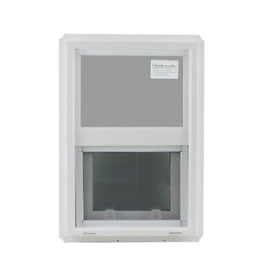 "Double Pane Window 14"" x 21"" Tempered Glass Low-E PVC Frame"