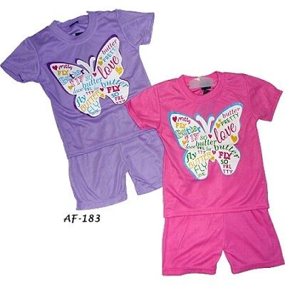 girls short sets 2, 4, yrs available (SS0009)