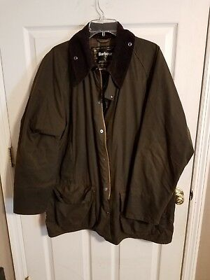 Barbour Classic Beaufort England Skyoil Waxed Cotton Coat and w/ Hood