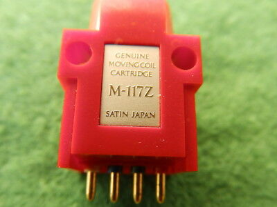 Satin M-117Z Moving Coil MC phono cartridge -  without a needle, PayPal POSSIBLE