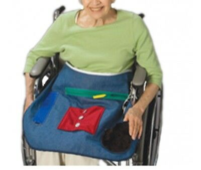 Posey 7400 Medical Cognitive/Dexterity Therapy Activity Apron - (Alzheimers)