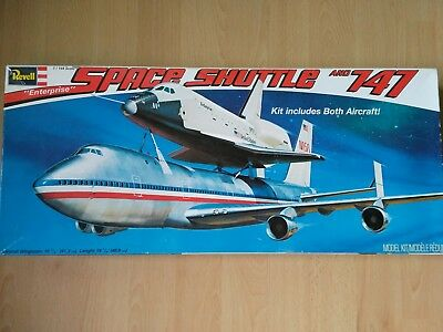 Revell Boeing 747 + Space Shuttle NASA  1:144  EXTREM RAR