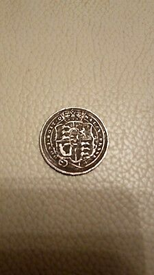Better grade , Silver Sixpence , George III , 1818 ......................... S16