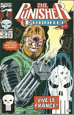 PUNISHER (The) - No. 65 (July 1992) ~ SIGNED COPY