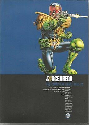 JUDGE DREDD: The Complete Case Files No. 24 (2015) First Edition Trade Paperback