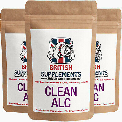 Clean Acetyl L-Carnitine ACL 1,020mg Veg capsules British Supplements UK Made