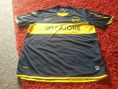 Boca Juniors Football Shirt Nike Cabj Megatone Brazil Unicef