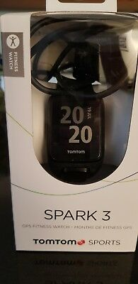 TomTom Spark 3 GPS Fitness Watch SMALL BLACK