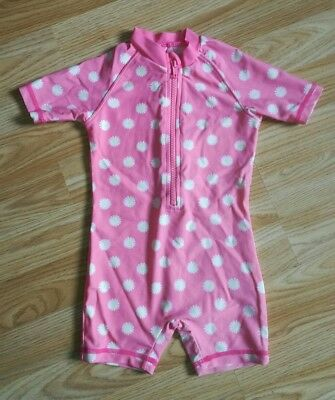 Pretty girls age 12-18 months All In One Swimming Costume Sun Suit