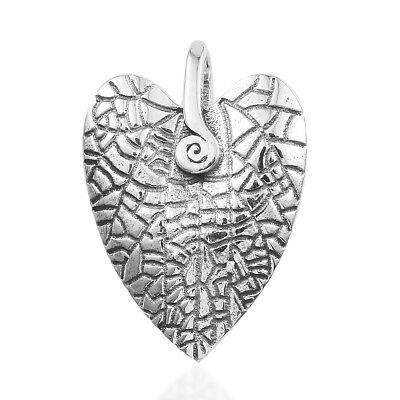 New Silver Heart Pendant without Chain