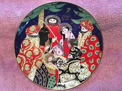 Franklin Mint Plate The Nativity House of Faberge