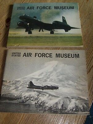 Lot of 2 Vintage United States Air Force Museum Books   Wright-Patterson Dayton