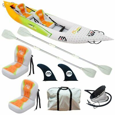 "Aqua Marina Betta Hm 13,6 "" Kayak 2 Personnes Gonflable Kayak Tours 412cm"