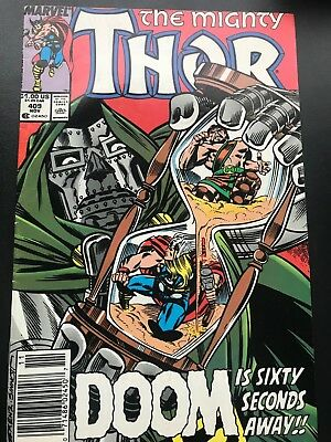 The Mighty Thor # 409  Marvel Comics   FN+