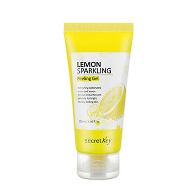 [SECRET KEY] Lemon Sparkling Peeling Gel - 120ml / Free Gift