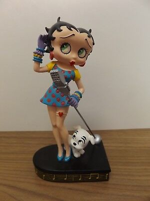 "Betty Boop ""betty Sings The Blues"" Danbury Mint"