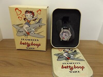 Betty Boop Glamorous Watch - Super Cute And New !!