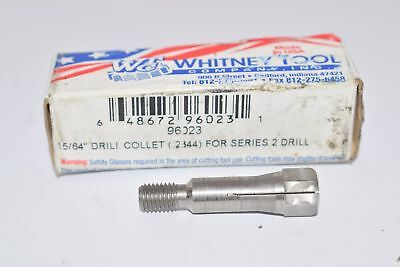 New Whitney Tool 96023 Series 2 Drill Extension Collet, 15/64'' Drill Size For S