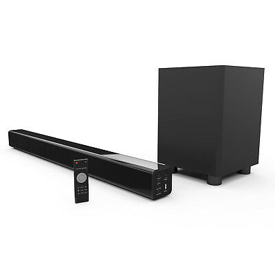 Soundbar with Bluetooth and Wireless Sub-woofer (REPACK)