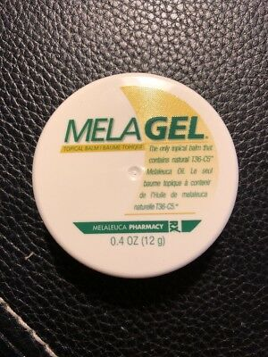 Melaleuca Melagel Topical Balm Disc 0.4 oz