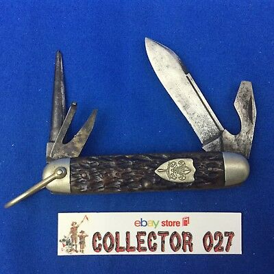 Boy Scout Vintage Knife Ulster Dwight Devine and Sons