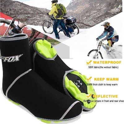 Bike Cycling Shoe Cover Warm Cover Rain Waterproof Protector Overshoes Windproof