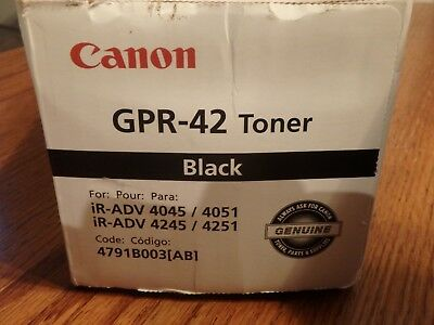 Canon GPR-42  Black Toner for IR ImageRunner  4045  /  4245 / 4245 / 4251