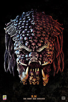 "The Predator Art Poster 36x24"" 21x14"" Movie Film 2018 Print Silk"