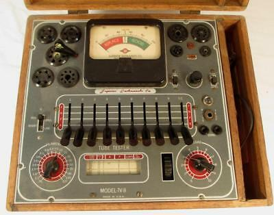Vintage Superior Instruments Co. Model TV-11 Vacuum Tube Tester Works As Found