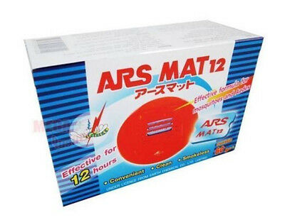 ARS MAT12 Mosquito Repellent Electric 12Hr Mosquito Repeller Effective 60 Pcs